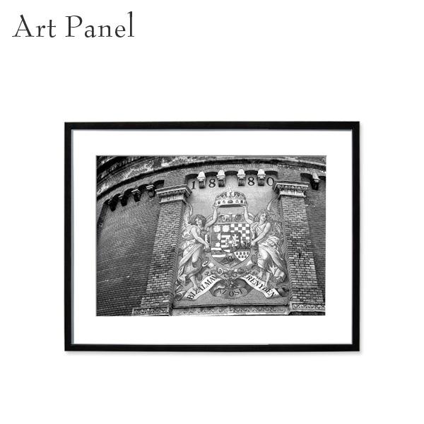アートパネル モノクロ モダン インテリア 壁掛け アート 海外 風景 フレーム付き 写真 おしゃれ 壁飾り