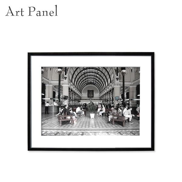 アートパネル モノクロ 海外風景 モダン インテリア 壁掛け ウォルーアート フレーム付き 写真 壁飾り