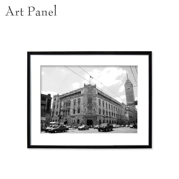 壁掛け アート モノクロ 白黒 海外 アートパネル 風景 モダン インテリア 額付き 写真 壁飾り