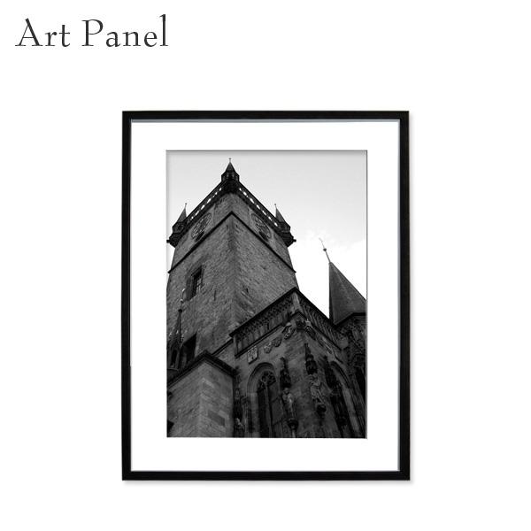 壁掛け アート 縦 モノクロ 白黒 海外 アートパネル 風景 モダン インテリア 額付き 写真 壁飾り