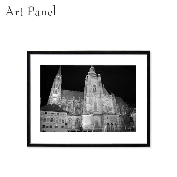 壁掛け アート モノトーン 海外風景 アートパネル モダン インテリア 額付き モノクロ写真 壁飾り