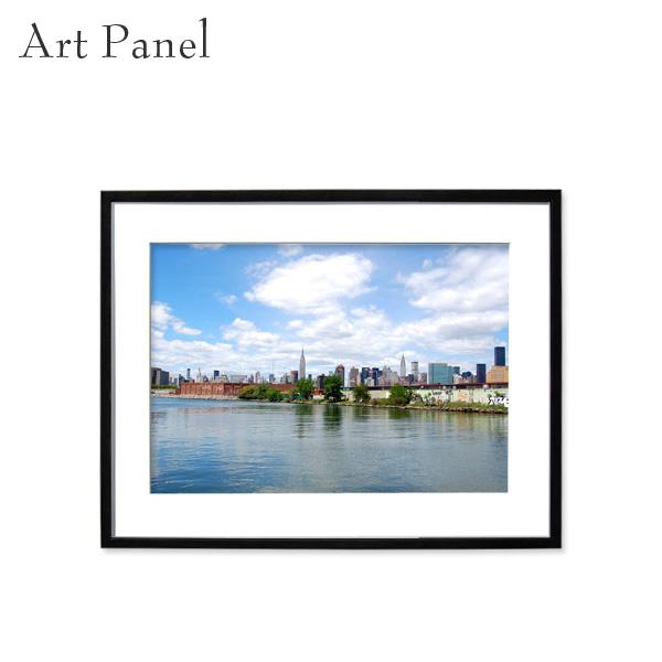 壁掛け アート ニューヨーク 海外風景 アートパネル モダン インテリア 額付き 写真 壁飾り