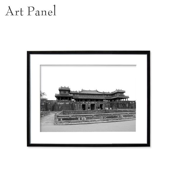 アートパネル モノトーン アジア 街並み 壁掛け 海外風景 モダン インテリア ウォールアート 額付き モノクロ写真