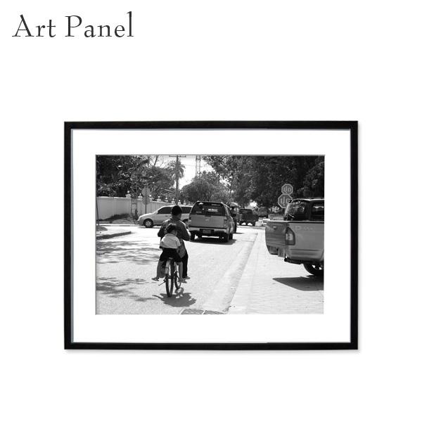 アートパネル モノトーン アジア 壁掛け 白黒 インテリア モダン アートボード 額付き モノクロ アート写真
