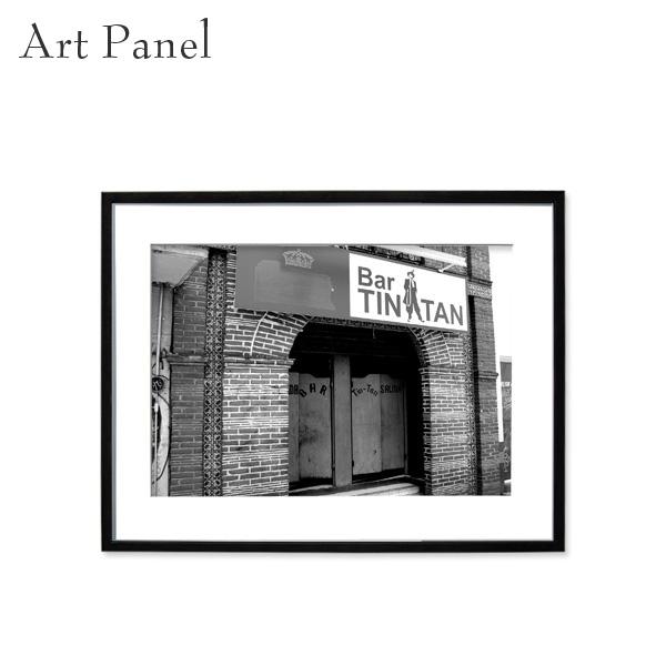 アートパネル モノトーン メキシコ 壁掛け 白黒 インテリア モダン アートボード 額付き モノクロ アート写真