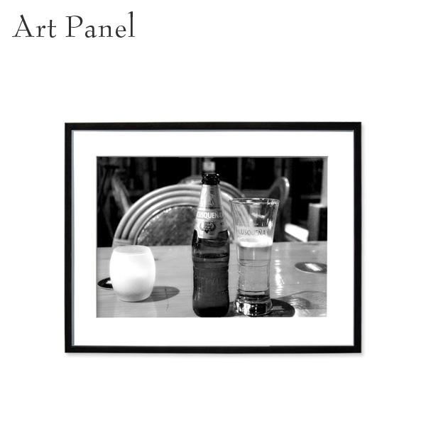 アートパネル モノトーン クスコ 壁掛け 白黒 壁面 インテリア モダン アートボード 額付き モノクロ アート写真