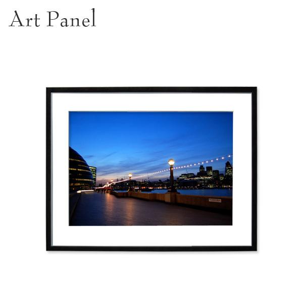 アートパネル ロンドン お洒落 室内 装飾 デザイン 街並み 壁掛け インテリア 店舗 絵画 ポスター 写真 額付