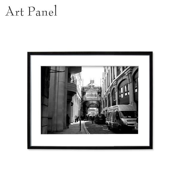 モノクロ アート ロンドン 額付 パネル 風景 部屋 装飾 街並み 壁掛け インテリア 店舗 絵画 ポスター 写真