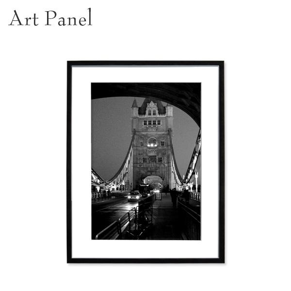 アートパネル モノトーン ロンドン 額付 パネル 風景 街並み 壁掛け インテリア 絵 ポスター 写真