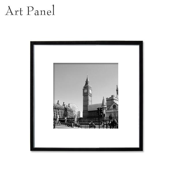 ロンドン 壁飾り スクエアパネル アート 展示 店舗 内装 ディスプレイ 壁面 イギリス 街 絵画 ポスター 写真 額付