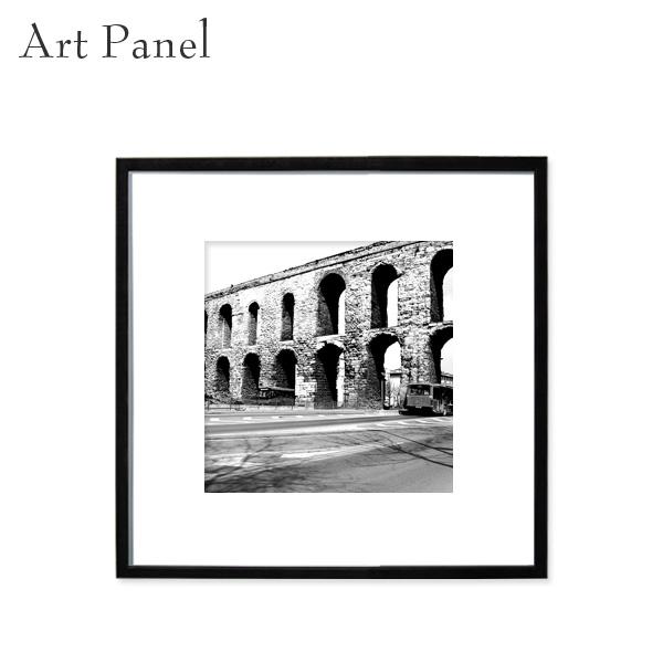海外風景 アート モノクロ 正方形 インテリア おしゃれ 展示 額縁 飾り 絵画 ポスター 写真