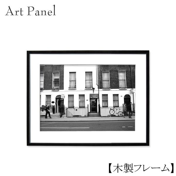 アートパネル モノクロ 風景 壁掛け モノトーン レトロ 写真 ロンドン おしゃれ 装飾 自宅 店舗