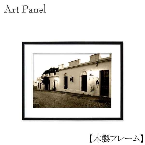 アートパネル 風景 海外 セピア 壁掛け 写真 インテリア おしゃれ モダン 壁飾り 額付き 木製 額縁