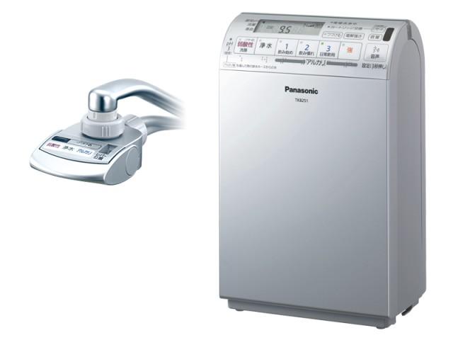 【パナソニック】アルカリイオン整水器(クリスタルシルバー)≪TK8051P-S≫