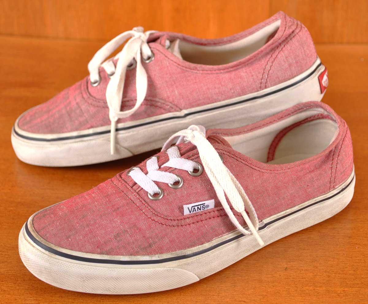 vans deck shoes