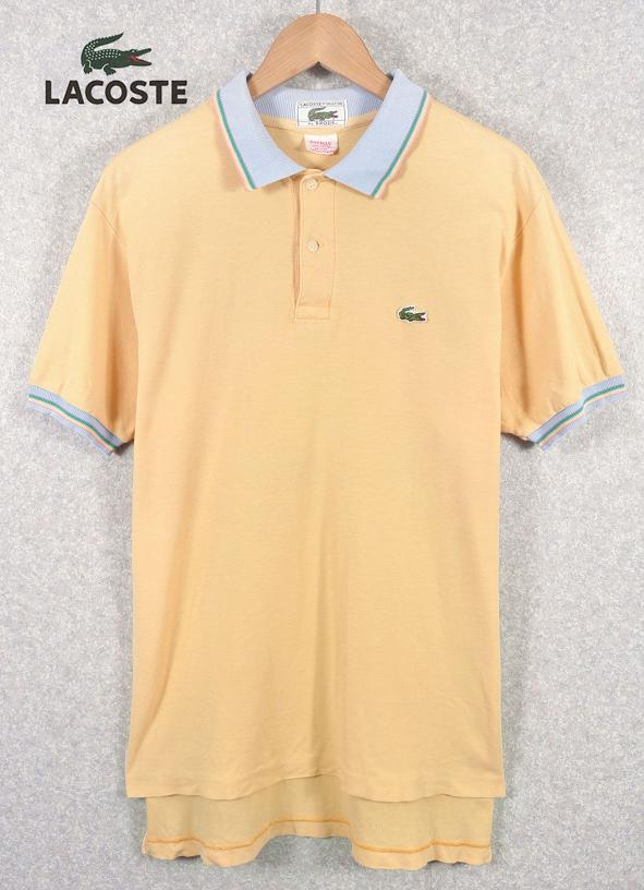 7ce7294a9a7 Vintage / IZOD LACOSTE Izod Lacoste / polo shirt and cream yellow / mens M  worth ...