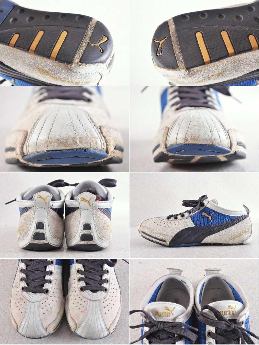 彪马 / Schattenboxen 低 shatamboxen 低 / 拳击鞋 mochiefmodel / 自然 / 黑色 / 蓝色 / JPN24.0cm ○
