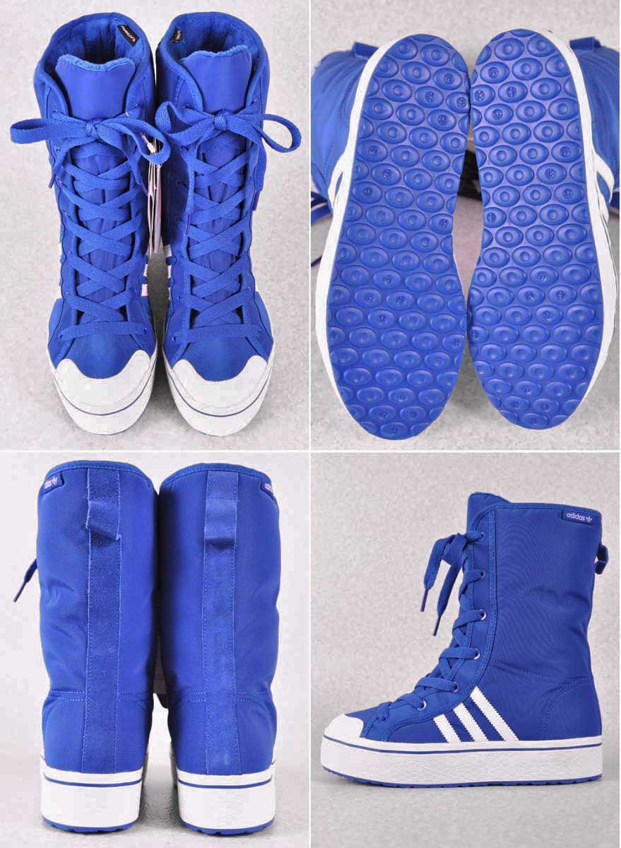 adidas Honey Boot W boots blue white