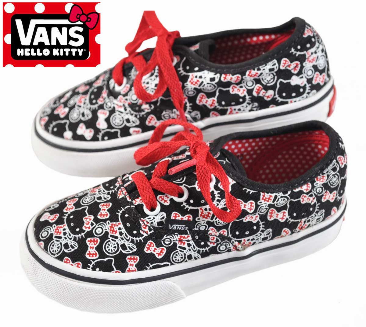 132330cfa VANSxHELLO KITTY vans x Hello Kitty / Authentic TD adidas toddler / Baby  Baby sneakers canvasdeckthews ...