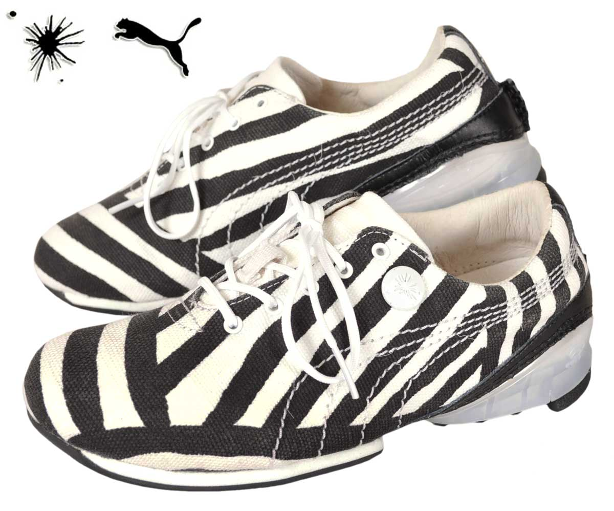 374107406fef PUMA by MIHARA YASUHIRO PUMA by Mihara Yasuhiro   MY-75 TRIBAL tribal    CELL cell canvas sneaker   White x black dazzle camouflage patterns    JPN23.0cm