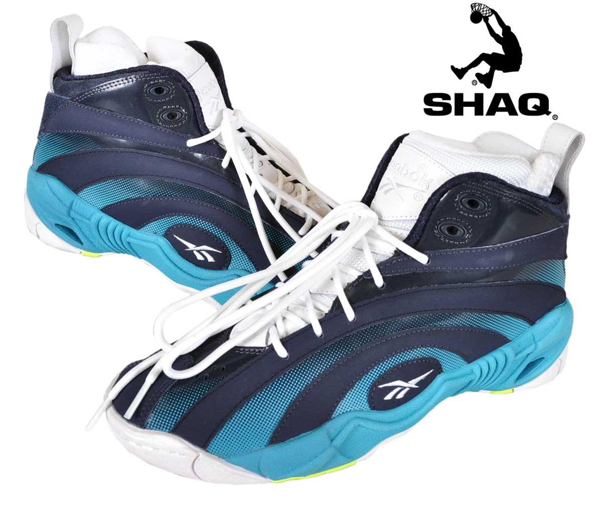 Reebok Reebok SHAQNOSIS OG shacknosis OG high cut basket shoes Navy blue white JPN25.0cm 1