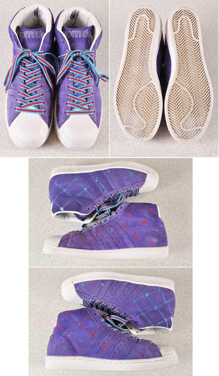 2007 made / adidas adidas / PROMODEL VINTAGE FLAVOURS OF THE WORLD JANUS Pro vintage flavor of the world Janus / purple suede / JPN27.5cm inspection
