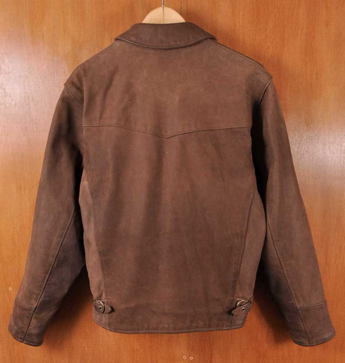 e1306b4484a98 ... Made in USA   SCHOTT shot   Tracker jacket nubuck leather jacket and  wool check liner ...