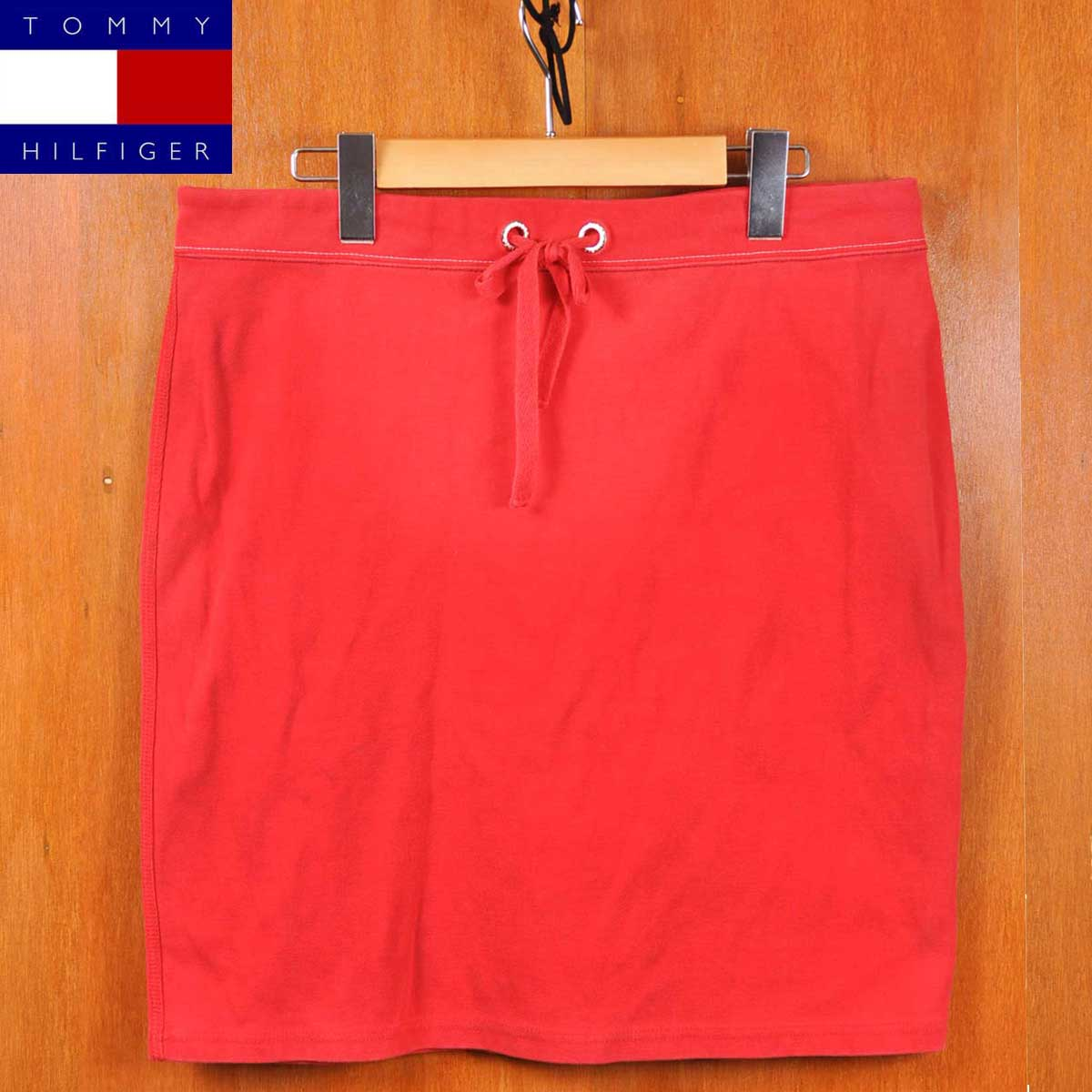 TOMMY HILFIGER Tommy Hilfiger / sweets cart / red / women's size L: