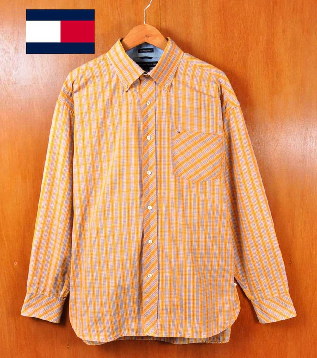 0362aa97 TOMMY HILFIGER Tommy Hilfiger / 80 double weave students land use button-down  long sleeve ...