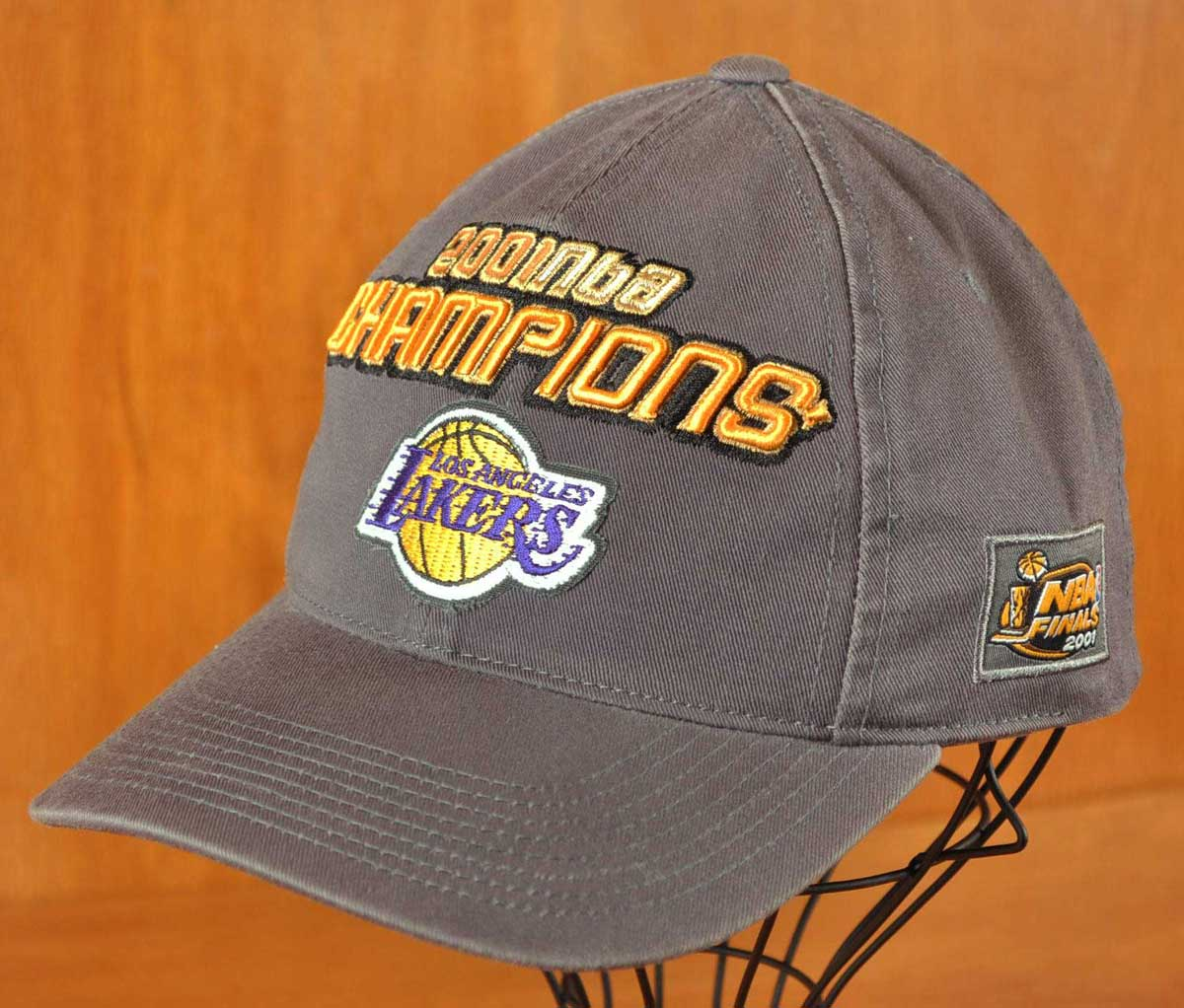ac1d7814731 SPL28   NBA LOS ANGELES LAKERS Los Angeles Lakers NBA Final champion   baseball  cap belt back cap   is gray for 2