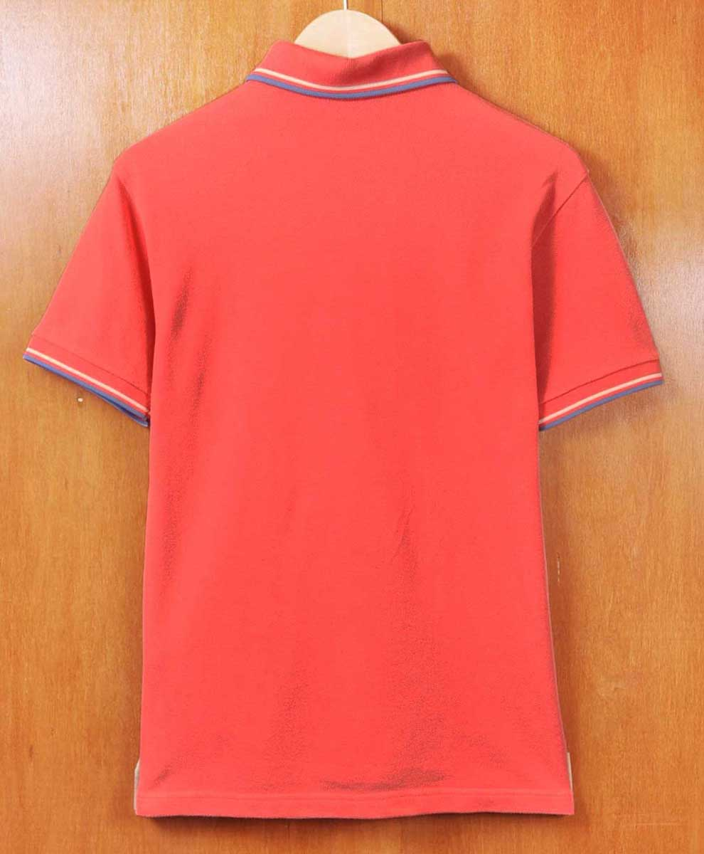 c32da566 ... FRED PERRY Fred Perry / short sleeves polo shirt / salmon pink system  base X ...