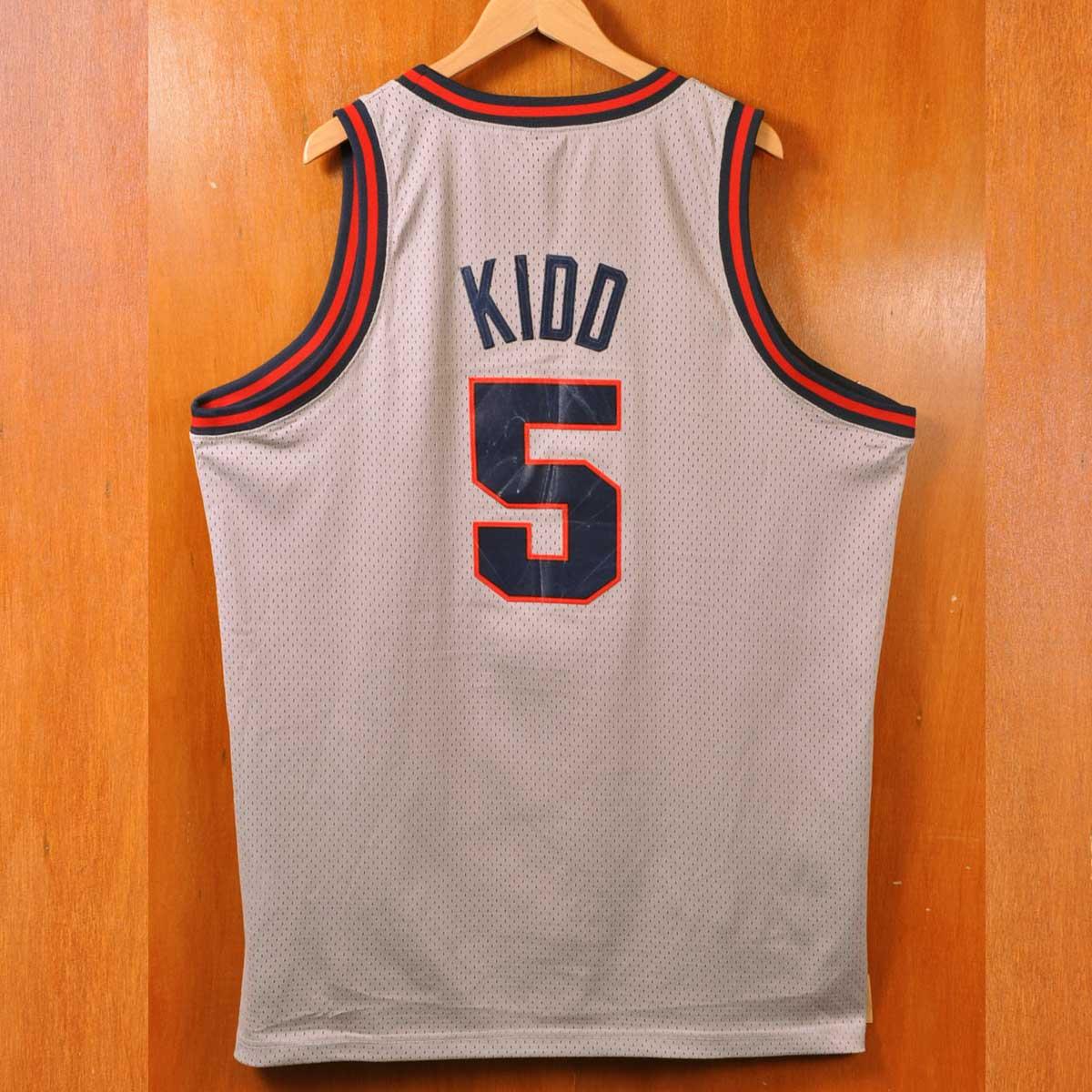 781132b5210 ... NIKE Nike NBA New Jersey Nets New Jersey Nets Jason Kidd basketball  tank top uniform numbering ...