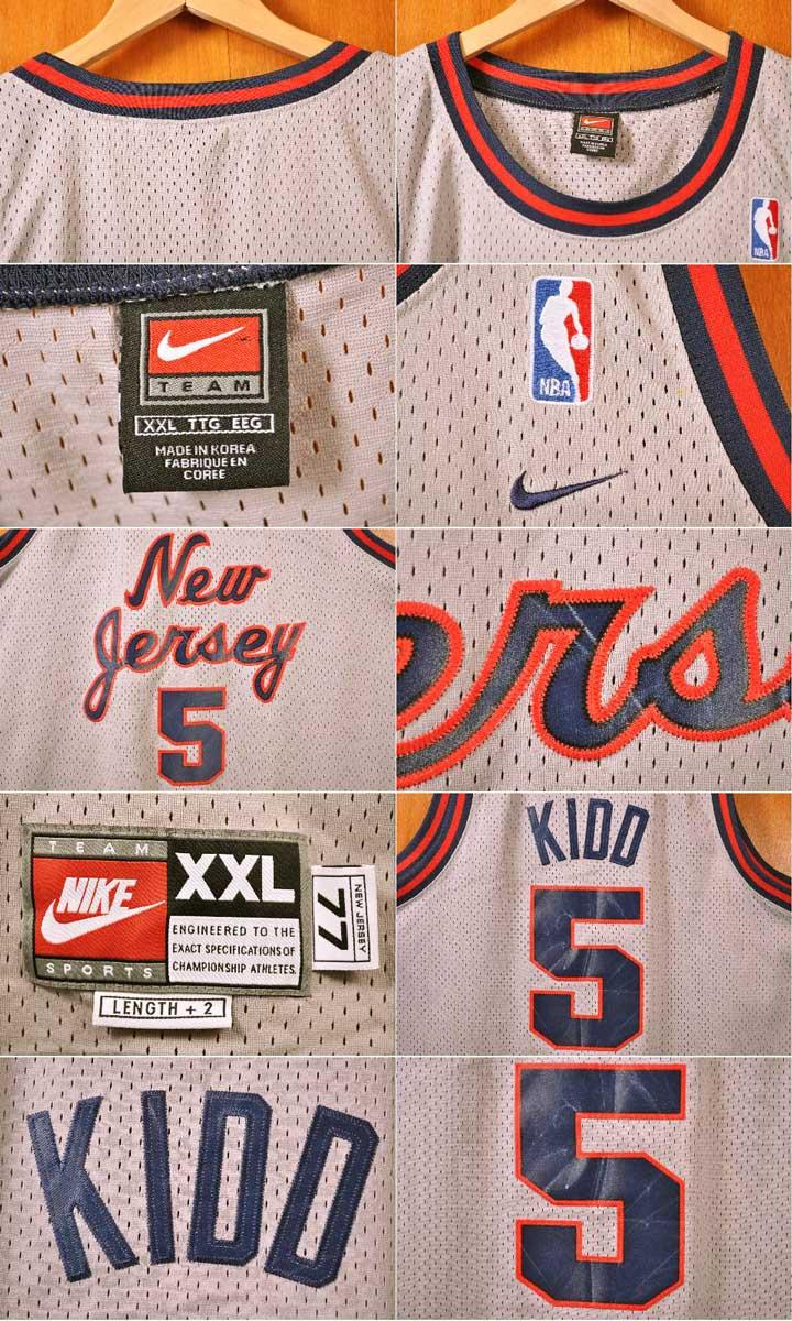 a956423aed6 ... NIKE Nike NBA New Jersey Nets New Jersey Nets Jason Kidd basketball  tank top uniform numbering