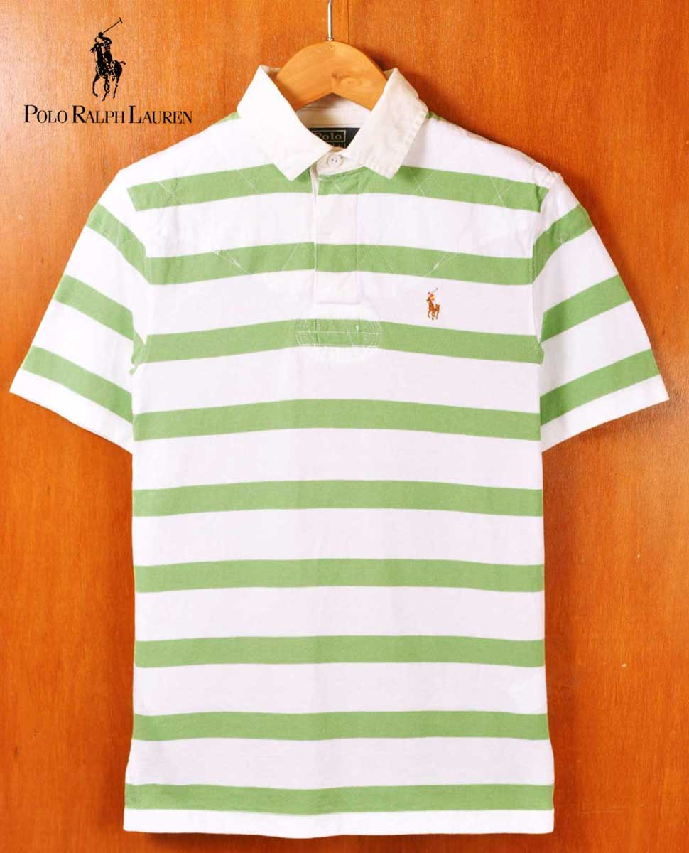 ad9c07700 Polo Ralph Lauren polo Ralph Lauren shoulder quilting short sleeves rugby  shirt short sleeves polo shirt ...