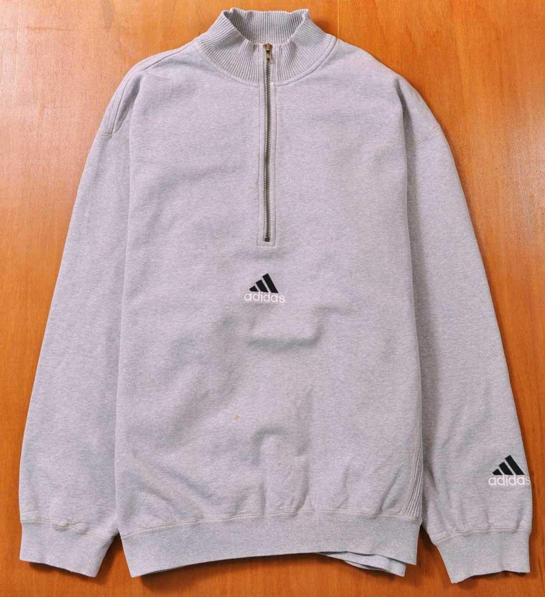 adidas half sweatshirt