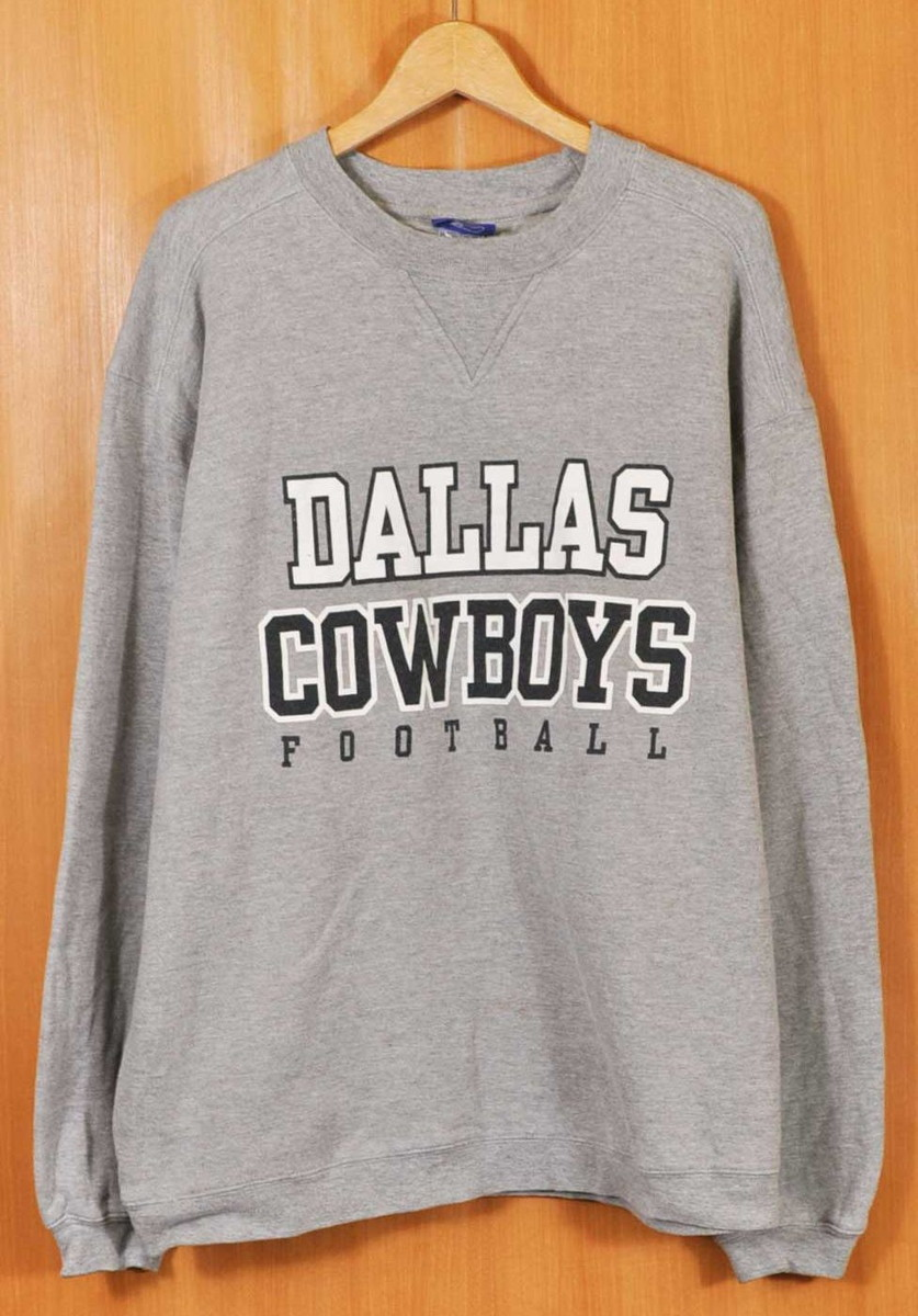 5b5bd987250 Reebok Reebok NFL Dallas Cowboys Dallas Cowboys sweat shirt marbled beef  gray men XL equivalency▽ ...