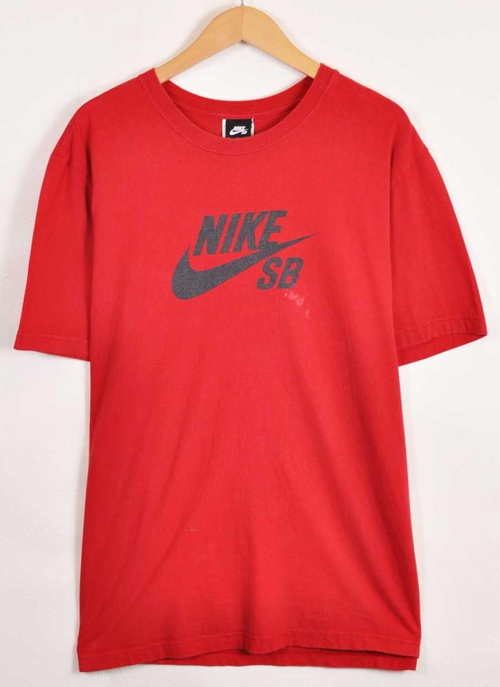 more photos official site great deals 2017 NIKE SB Nike SB skateboarding short sleeves T-shirt red men XL▼