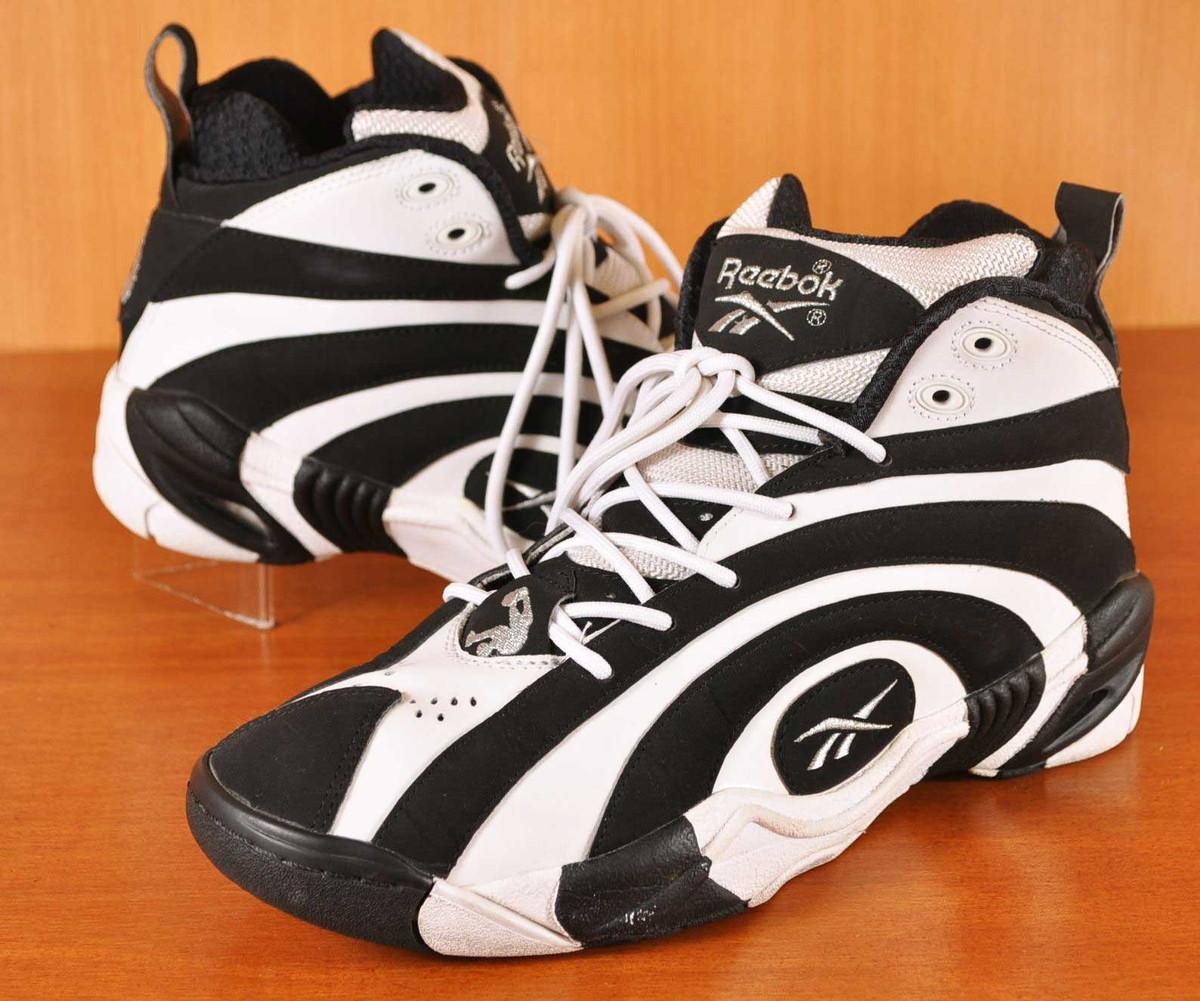 free shipping 961d4 8844c Reebok Reebok SHAQNOSIS OG shack Gnosis OG higher frequency elimination  basketball shoes black X white JPN27 ...