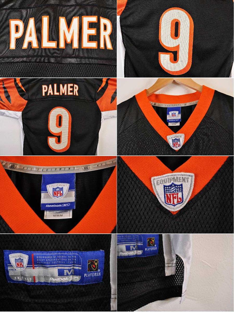 92199e95cdd Categories. « All Categories · Men's Clothing · Tops · Others · Reebok  Reebok NFL Cincinnati Bengals Cincinnati Bengals Carson Palmer football ...