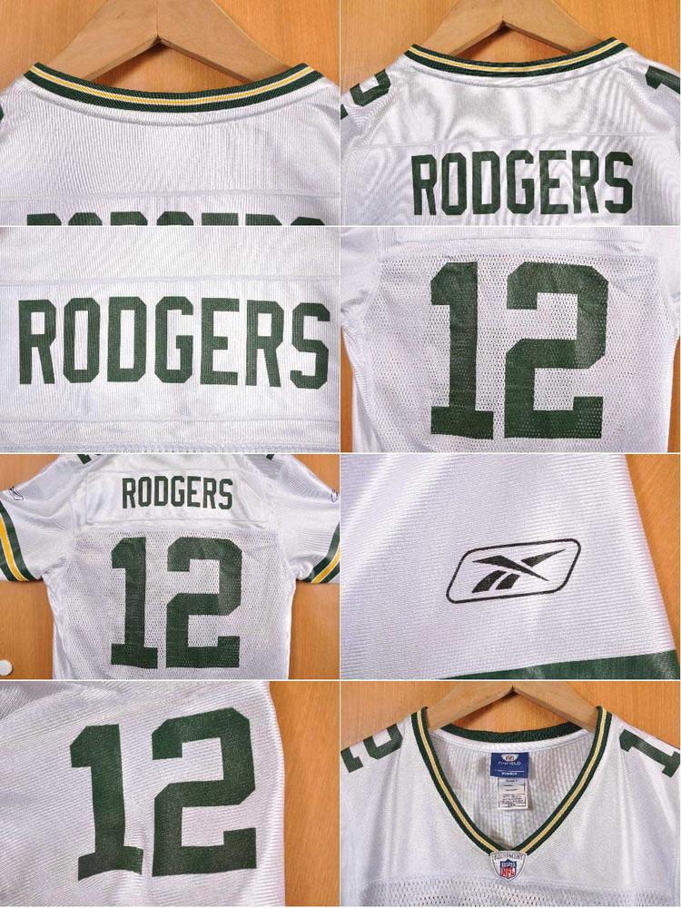 6eda9695aae ... Reebok Reebok NFL Green Bay Packers Green Bay Packers Aaron Rodgers  football shirt numbering mesh uniform ...