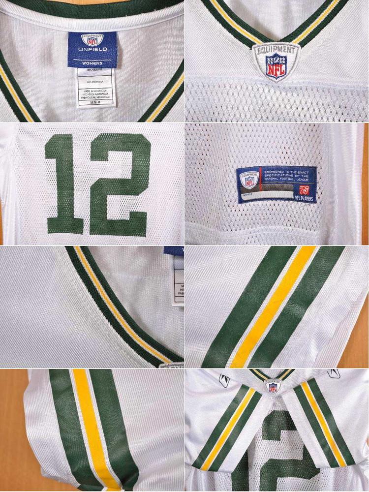 6c279bf33f7 ... Reebok Reebok NFL Green Bay Packers Green Bay Packers Aaron Rodgers  football shirt numbering mesh uniform