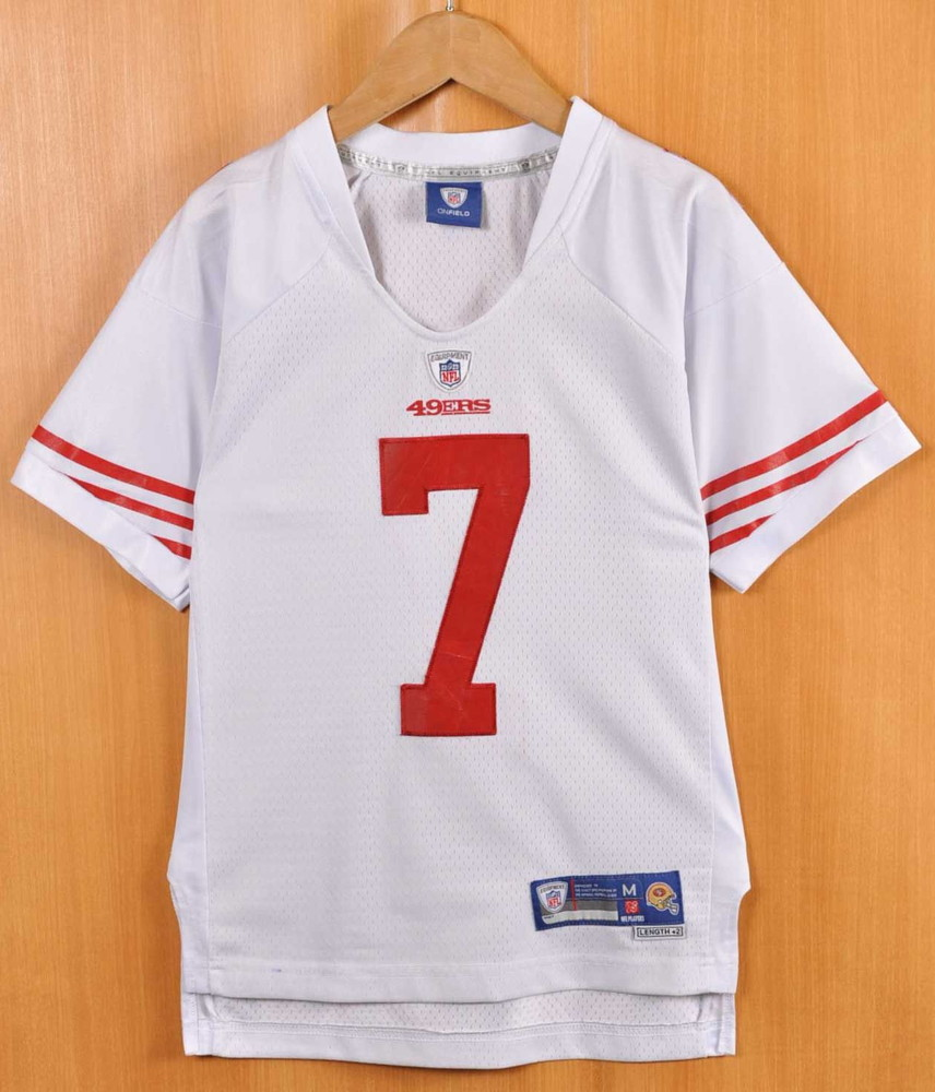 26a2d045ab7 NFL APPAREL NFL SAN FRANCISCO 49ers San Francisco forty-niners Colin Capa  Nic football shirt numbering uniform white lady s M equivalency▽