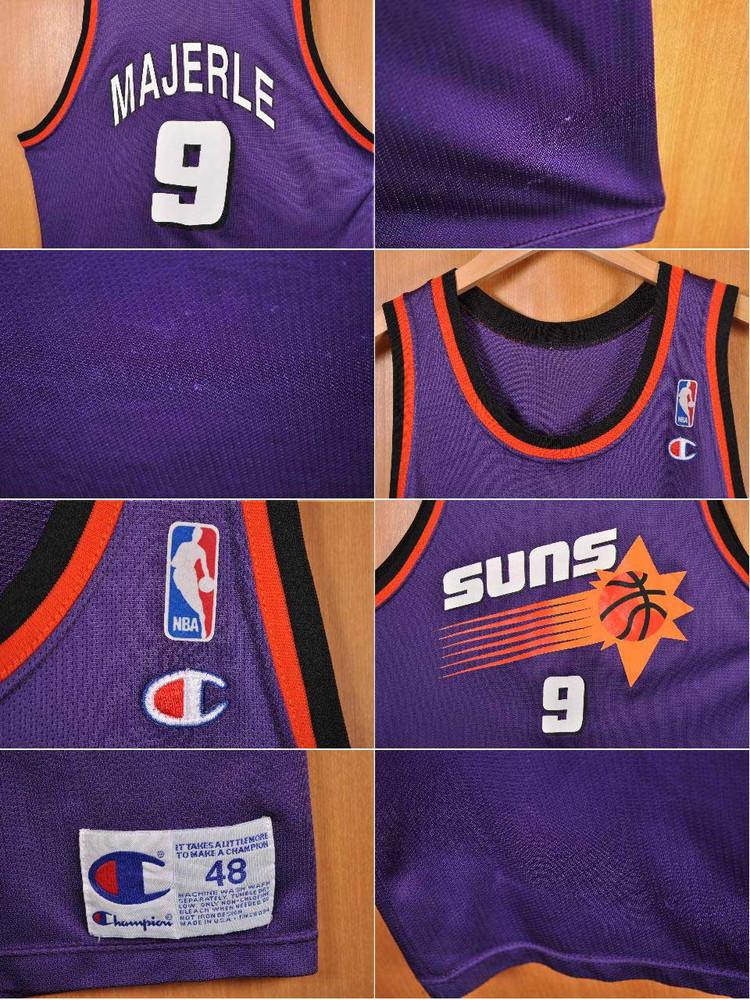 a077abdfe17 NBA Phoenix Suns Phoenix Suns Dan Majerle basketball tank top uniform  numbering purple men XL equivalency in the vintage 1990s made in USA▽