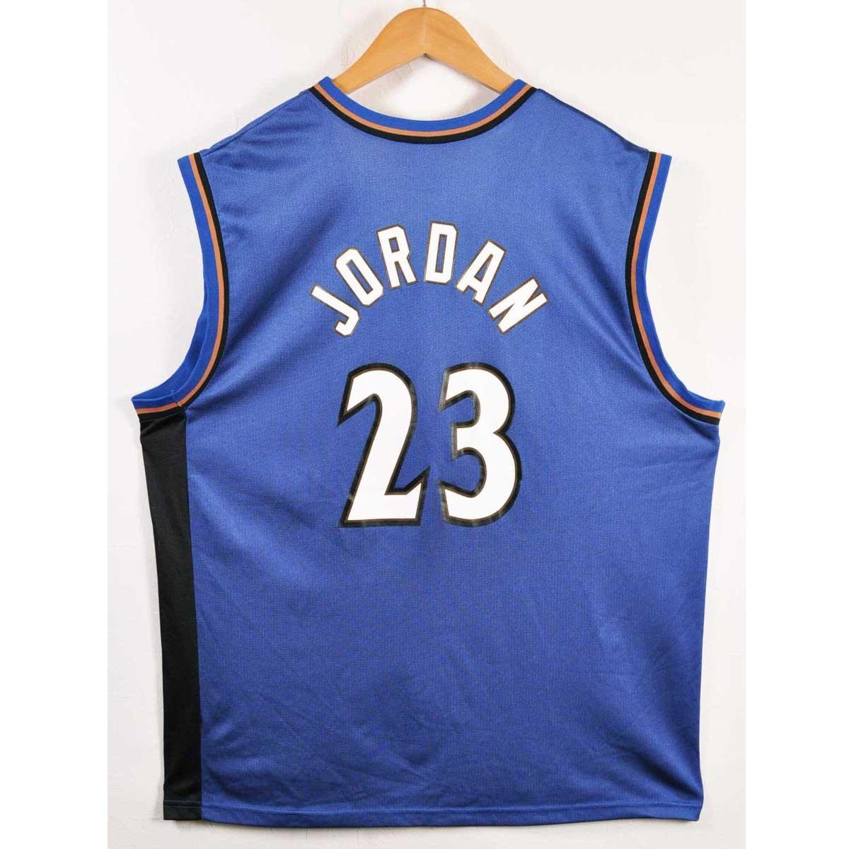 best loved 98a7b 9e4ee CHAMPION champion NBA Washington Wizards Washington Wizards Michael Jordan  basketball tank top uniform numbering dark blue men XL equivalency▼