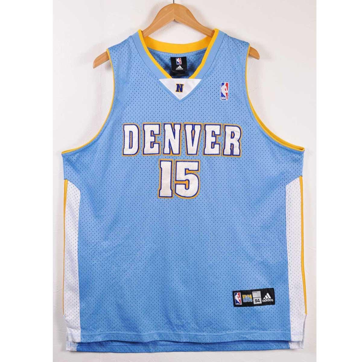 100% authentic 532b6 7cf5c adidas Adidas NBA Denver Nuggets Denver Nuggets car Melo Anthony basketball  tank top uniform numbering sax blue men XL equivalency▼