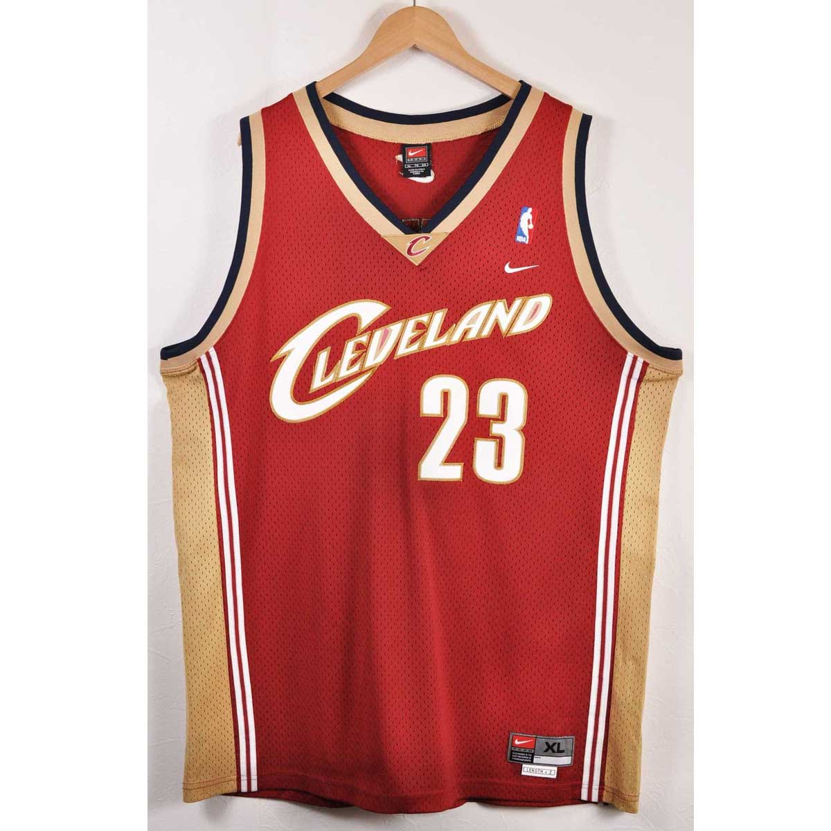 d55adc23a4d NIKE Nike NBA Cleveland Cavaliers Cleveland Cavaliers Revlon James  basketball tank top uniform numbering wine red men 2XL equivalency▽