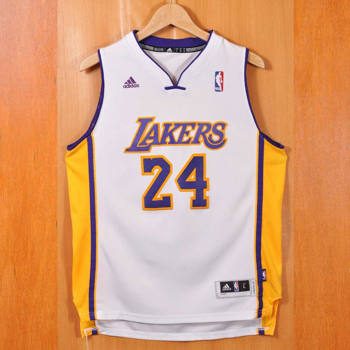 6dabdbd4c adidas Adidas NBA LOS ANGELES LAKERS Los Angeles Lakers Kobe Bryant  basketball tank top uniform numbering white lady s L equivalency▽