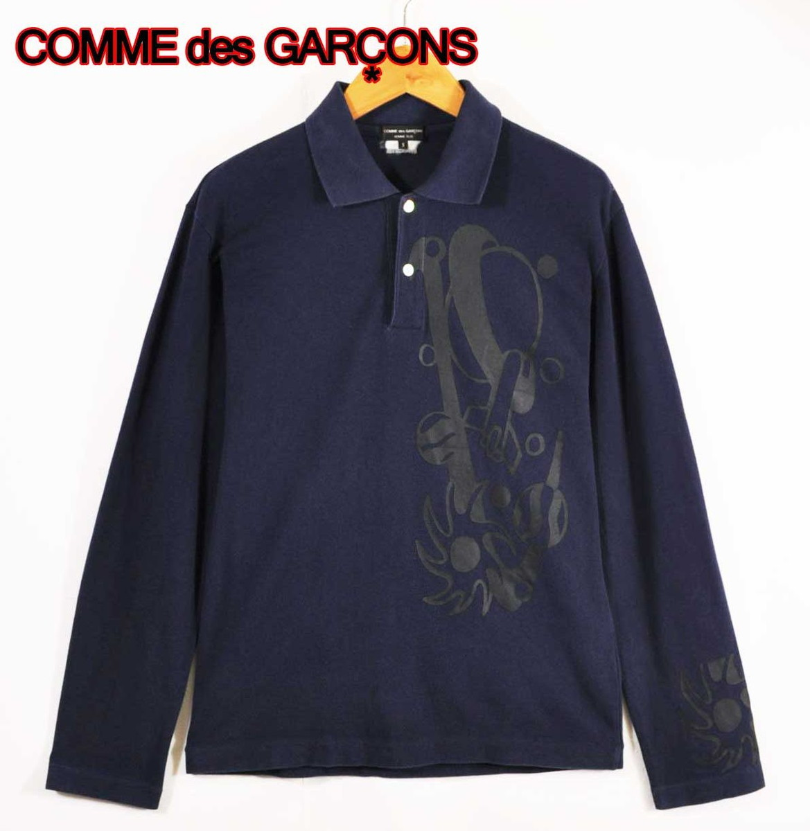 [16SS 前後リバースポロシャツ/M] COMME DES GARCONS HOMME PLUSコムデギャルソンオムプリュス USED中古