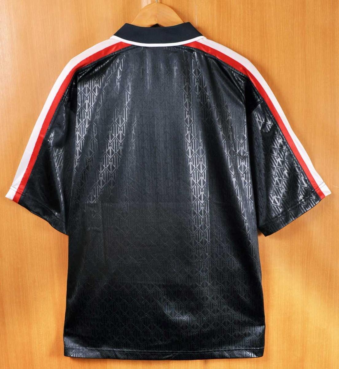 1e25c0a8a542b ... FILA Fila Grant Hill Grant Hill signature short sleeves half zip  warm-up polo shirt ...