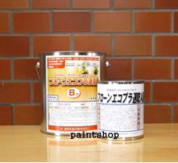 東日本塗料 フローンエコプラ 速乾 3kgセット